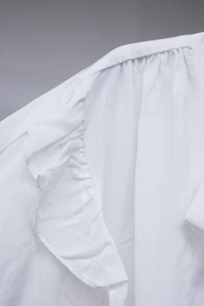 ISABEL MARANT シルクリボンネックフリルブラウス 【18AW】