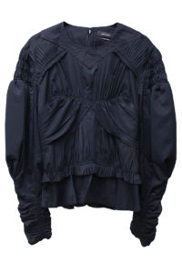 ISABEL MARANT 【NEW YEAR SALE - 40%OFF (12/30〜)】ピンタック×シャーリング長袖ブラウス【18AW】
