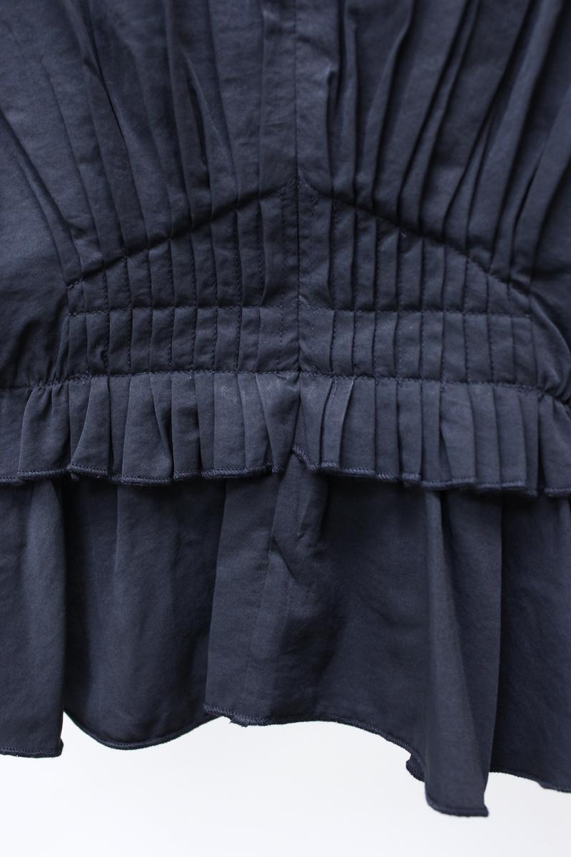 ISABEL MARANT 【40%OFF】ピンタック×シャーリング長袖ブラウス【18AW】