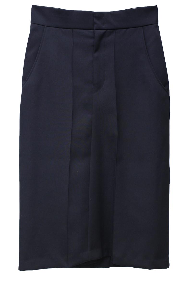 ISABEL MARANT 【40%OFF】ウールフロントシームタイトスカート【18AW】