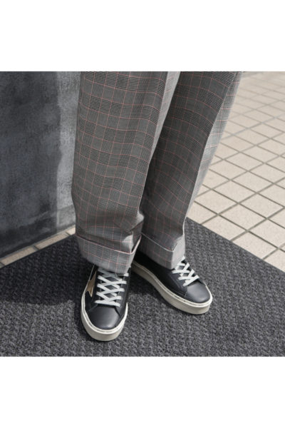 3.1 PHILLIP LIM グレンチェックセンタープレスパンツ【18AW】