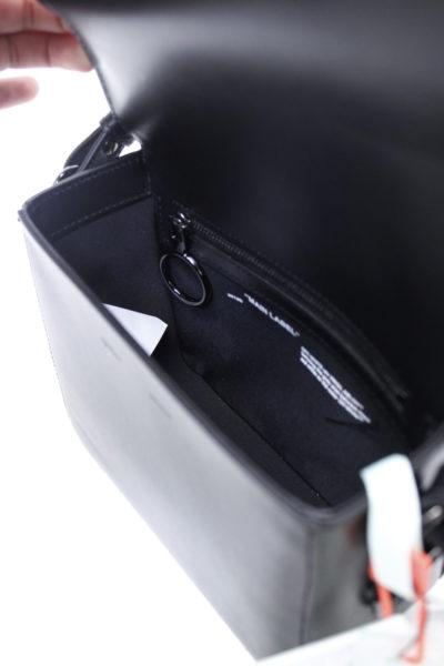 OFF-WHITE スカーフ付キルティングバッグ(BLACK)【18AW】