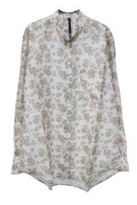 SARA LANZI 【NEW YEAR SALE - 40%OFF (12/30〜)】フラワープリントシャツ【18AW】