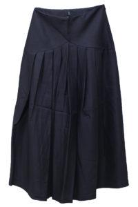 SARA LANZI フロントギャザースカート【18AW】