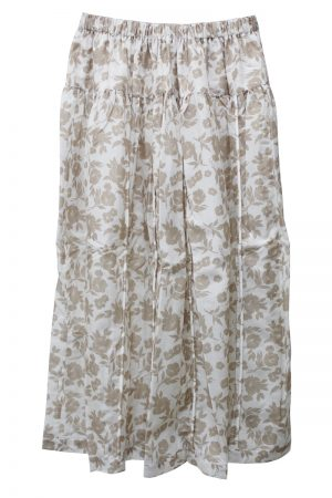 SARA LANZI 【40%OFF】フラワースカート【18AW】