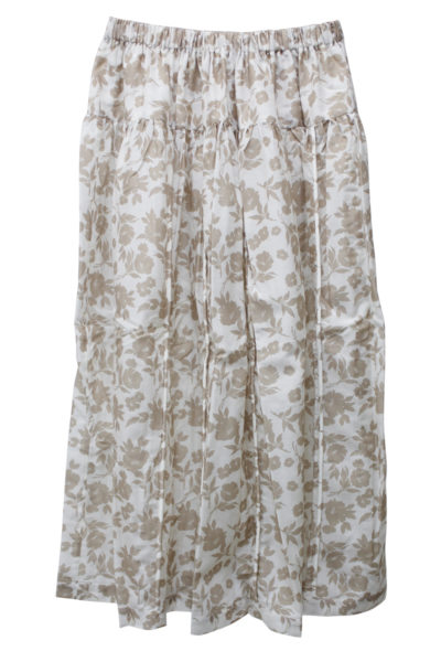 SARA LANZI フラワースカート【18AW】