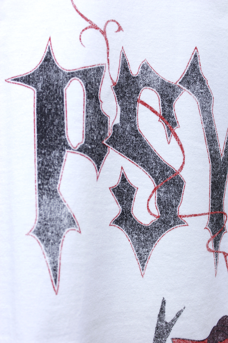 JOHN LAWRENCE SULLIVAN 【50%OFF】USED風プリントTシャツ