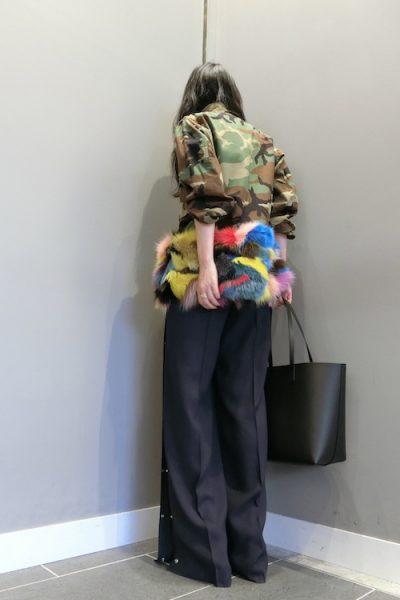 HARVEY FAIRCLOTH ミリタリー裾ファージャケット【18AW】
