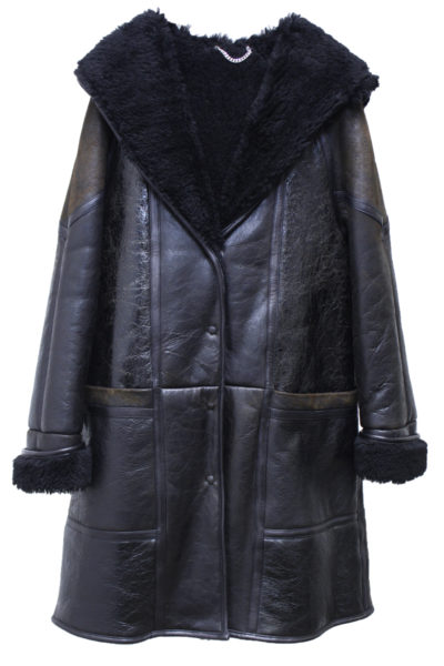 GOLDEN GOOSE DELUXE BRAND 【NEW YEAR SALE - 40%OFF (12/30〜)】ムートンフードロングコート【18AW】