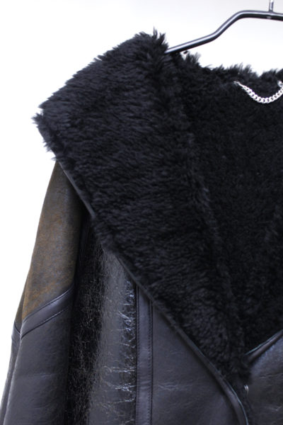 GOLDEN GOOSE DELUXE BRAND ムートンフードロングコート【18AW】