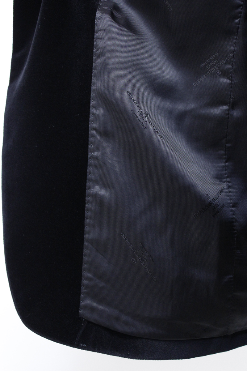 GOLDEN GOOSE DELUXE BRAND 【40%OFF】ベルベットテーラードジャケット【18AW】