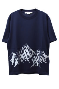 GOLDEN GOOSE DELUXE BRAND マウンテンロゴTシャツ【18AW】