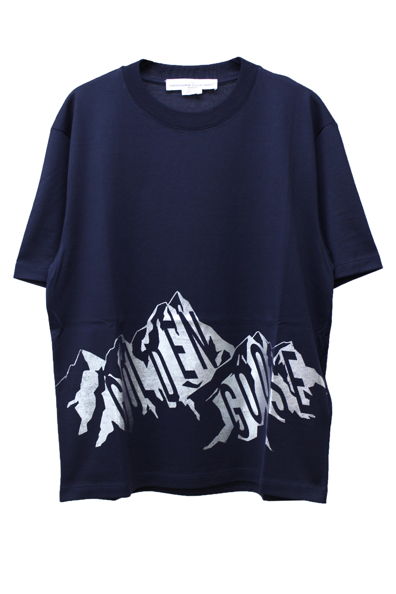 GOLDEN GOOSE DELUXE BRAND 【40%OFF】マウンテンロゴTシャツ【18AW】