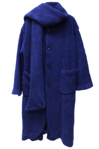 kiminori morishita 【NEW YEAR SALE - 40%OFF (12/30〜)】マフラー付ボアロングコート【18AW】