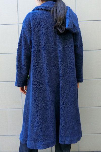 kiminori morishita 【NEW YEAR SALE - 40%OFF (12/30〜)】マフラー付ボアロングコート【18AW】