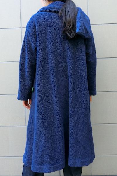kiminori morishita 【40%OFF】マフラー付ボアロングコート【18AW】
