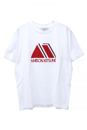 MAISON KITSUNÉ 【30%OFF】トライアングルTシャツ【18AW】