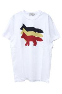 MAISON KITSUNÉ 【NEW YEAR SALE - 30%OFF (12/30〜)】トリプルFOX Tシャツ【18AW】