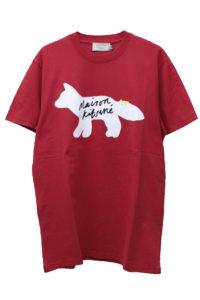 MAISON KITSUNÉ 【NEW YEAR SALE -30%OFF (12/30〜)】FOX&ロゴTシャツ【18AW】