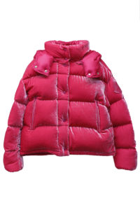 MONCLER ベルベットコンパクトダウンジャケット[CAILLE][18AW]