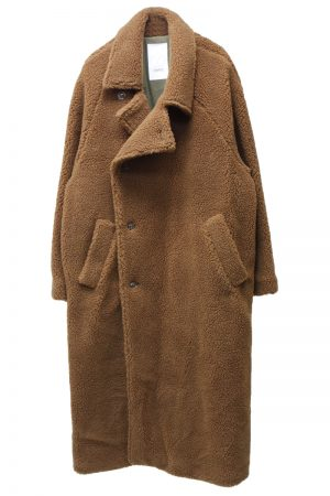 STAND ALONE 【40%OFF】ボアダブルロングコート【18AW】