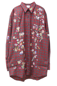 VETEMENTS 【PRE SALE-30%OFF (12/4〜)】ステッカーシャツ【18AW】