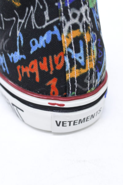 VETEMENTS 【NEW YEAR SALE - 50%OFF (12/30〜)】グラフィティハイカットスニーカー [18AW]