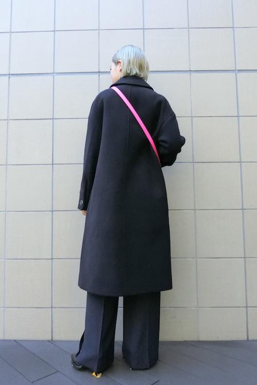 VICTORIA VICTORIA BECKHAM 【40%OFF】ステンカラー比翼ZIPロングコート【18AW】