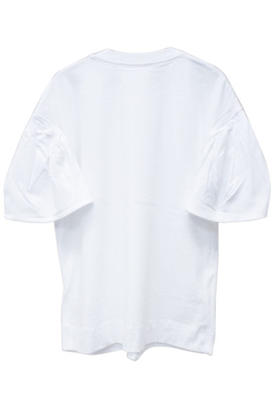 VICTORIA VICTORIA BECKHAM タックスリーブTシャツ【18AW】