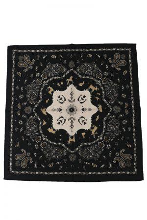 ALANUi バンダナプリントスカーフ
