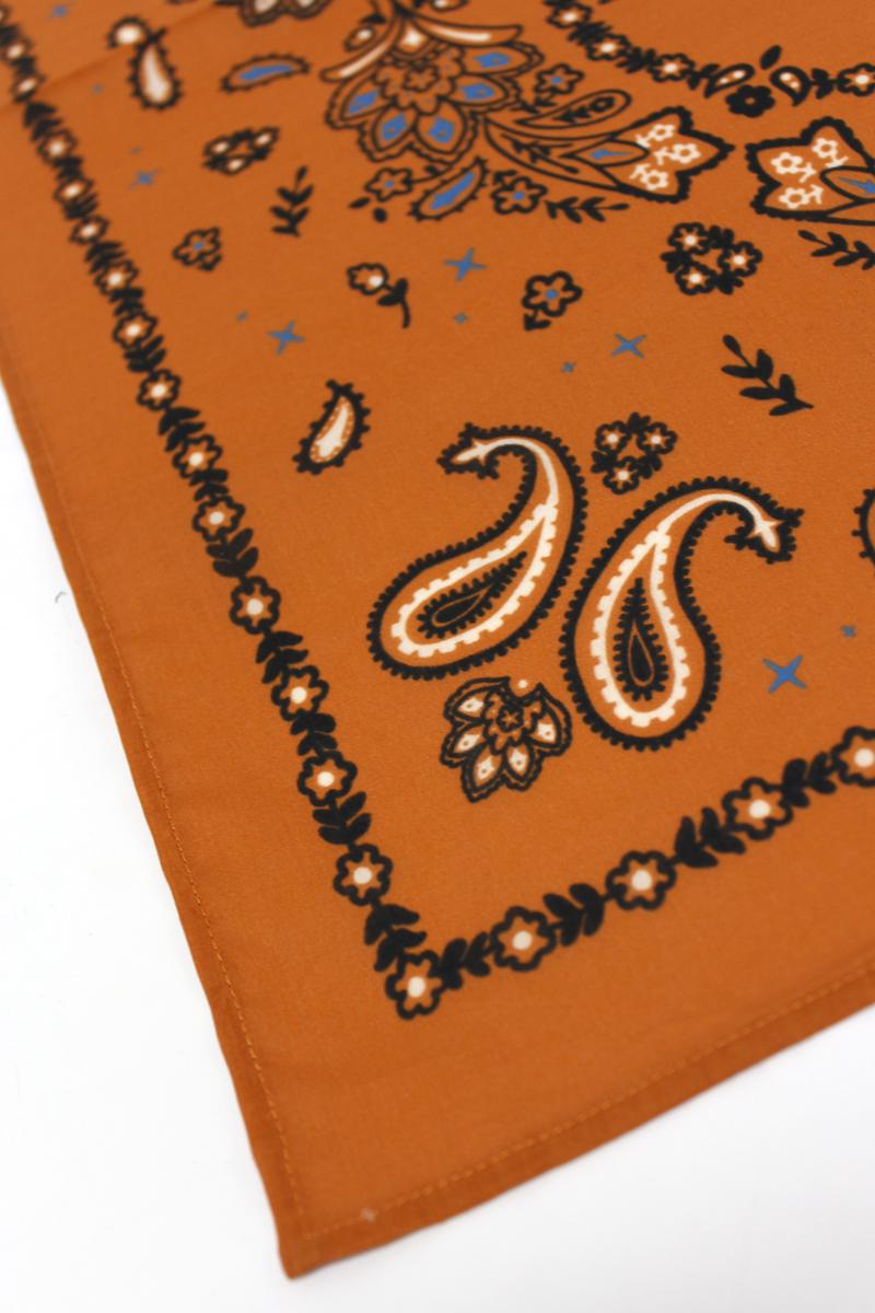 ALANUi 【50%OFF】バンダナプリントスカーフ