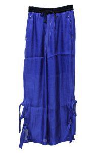 furuta 【NEW YEAR SALE - 40%OFF (12/30〜)】クリアベルベット裾リボンイージーパンツ[18AW]