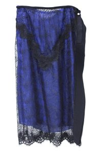 furuta 【NEW YEAR SALE - 40%OFF (12/30〜)】刺繍レースサイドスリットスカート[18AW]