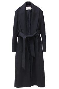 MAISON KITSUNÉ 【NEW YEAR SALE -50%OFF (12/30〜)】メルトンベルト付ロングコート【18AW】