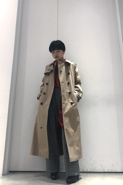 MARCOMONDE 【40%OFF】コットントレンチコート