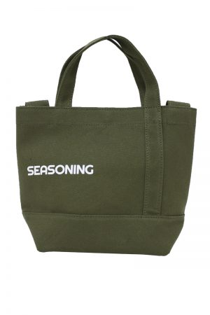 SEASONING 【50%OFF】キャンバスミニトートバッグ