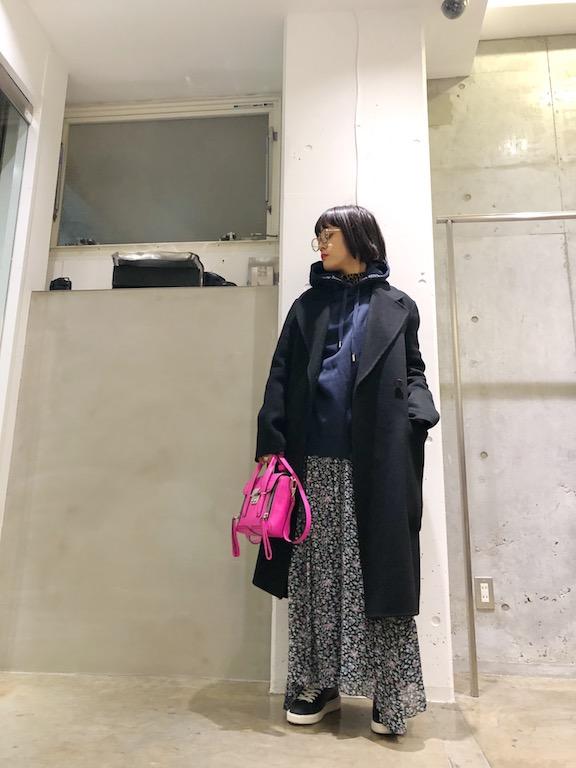 差し色ピンク ♡ ♡