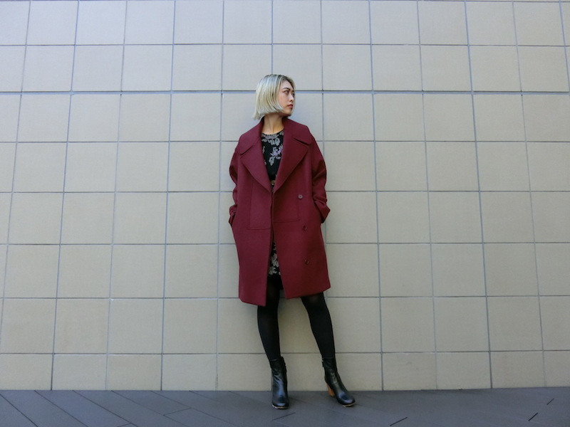 荒ぶる心をSTELLAのコートで包みます。