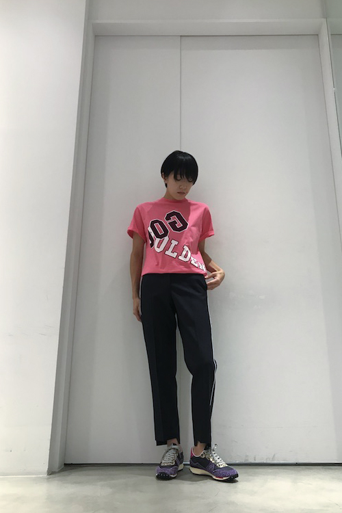GOLDEN GOOSE DELUXE BRAND 【40%OFF】折り返しロゴTシャツ【18AW】