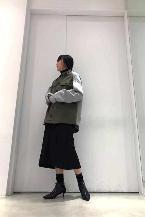 HARVEY FAIRCLOTH 【40%OFF】ミリタリー切替ジャケット【18AW】