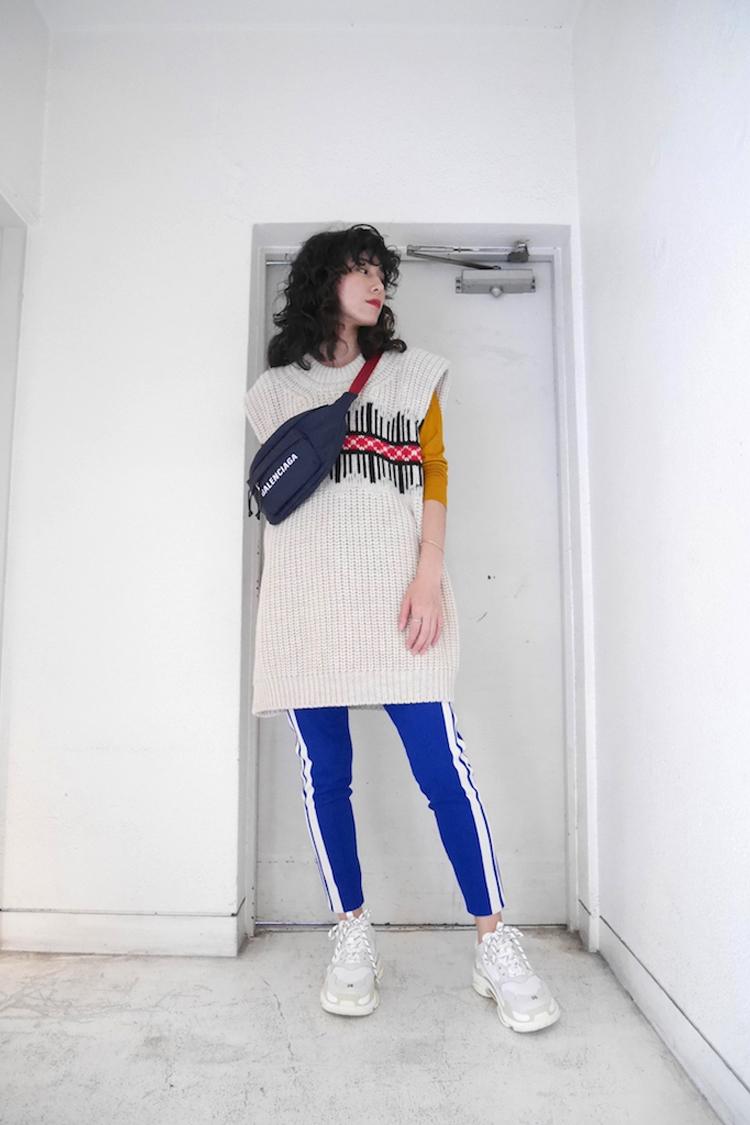 ISABEL MARANT ETOILE 【40%OFF】サイドラインスリムイージーパンツ【18AW】