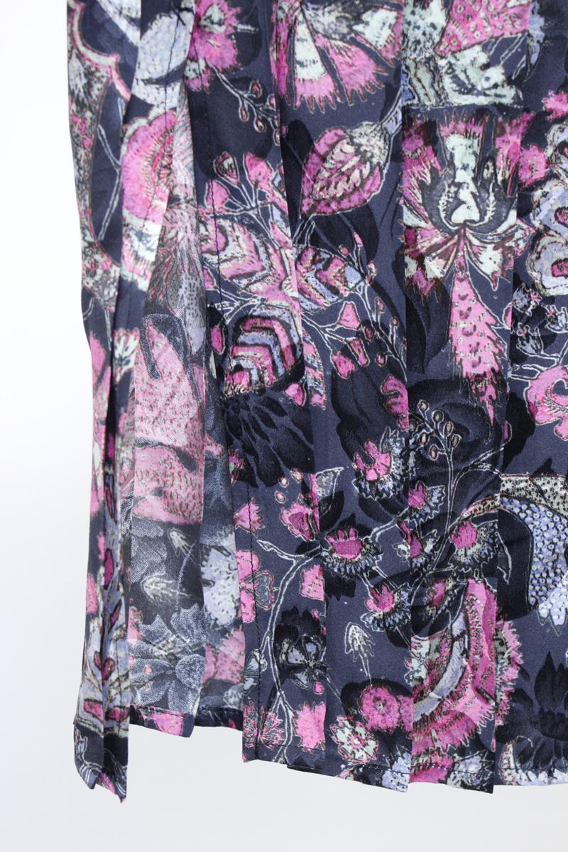 ISABEL MARANT 【40%OFF】フラワープリントアシンメトリープリーツスカート