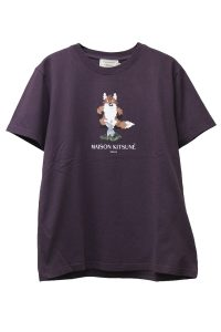 MAISON KITSUNÉ 【NEW YEAR SALE - 30%OFF (12/30〜)】ピクセルFOXプリントTシャツ【18AW】