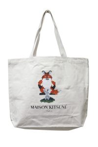 MAISON KITSUNÉ 【NEW YEAR SALE - 50%OFF (12/30〜)】ピクセルFOXトートバッグ【18AW】