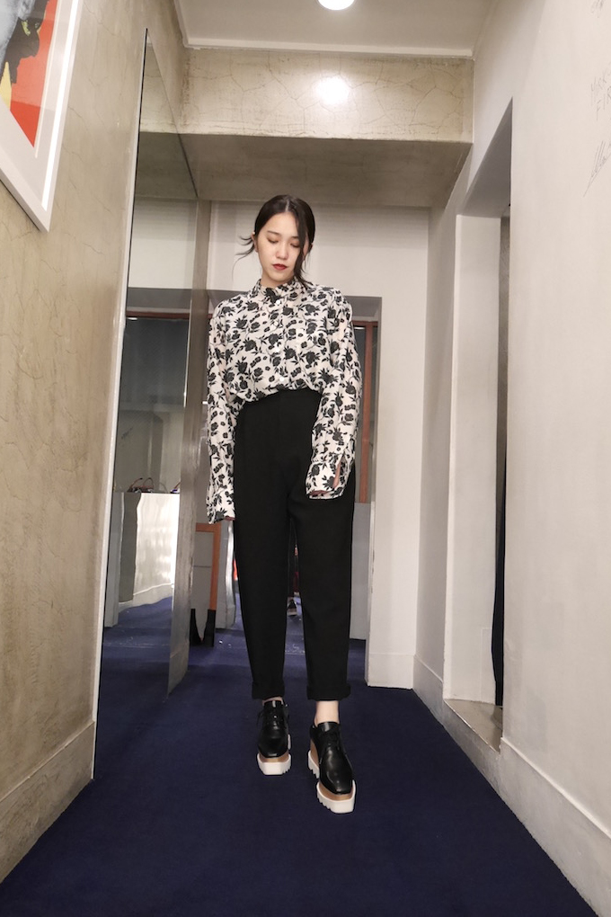 SARA LANZI 【40%OFF】細身ボーイズパンツ【18AW】