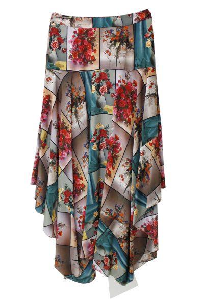 STELLA McCARTNEY 【NEW YEAR SALE - 30%OFF (12/30〜)】パネルフラワーロングスカート【18AW】