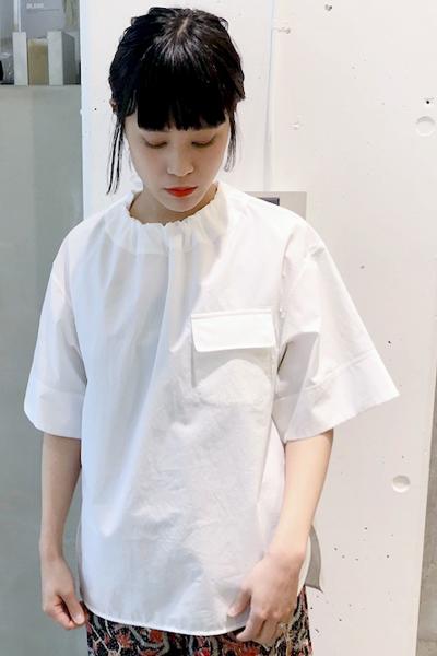 GOLDEN GOOSE DELUXE BRAND 胸ポケットワイドブラウス【19SS】