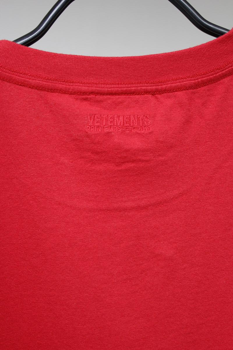 VETEMENTS CARTOON Tシャツ【19SS】