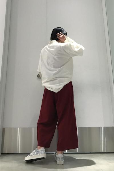 Christian Wijnants 【40%OFF】ワイドニットパンツ【19SS】