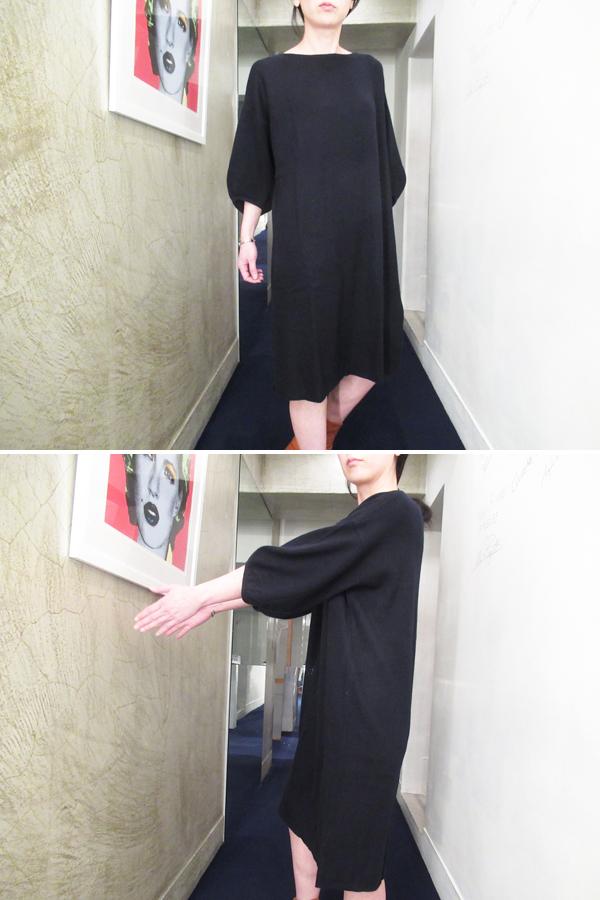 DEMYLEE バルーンスリーブニットワンピース【19SS】